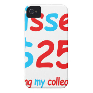 kisses  starting my college fund iPhone 4 case