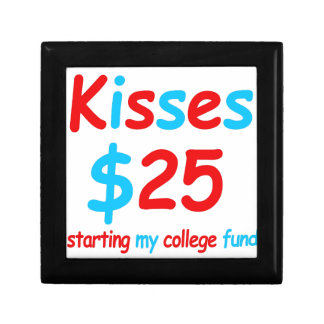 kisses  starting my college fund keepsake box