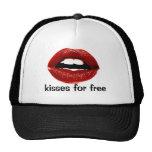 kisses trucker hat