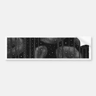 Kisses Under The Stars Car Bumper Sticker