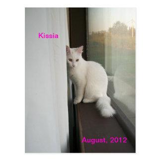Kissia/agosto de 2012 /Postcard Tarjeta Postal