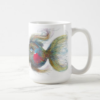 Kissiefish 15 oz Classic White Mug