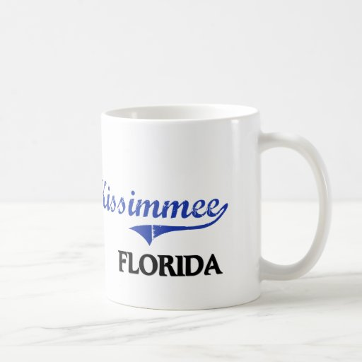 Kissimmee Florida City Classic Mugs