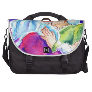 Kissin' Clauses Commuter Bag