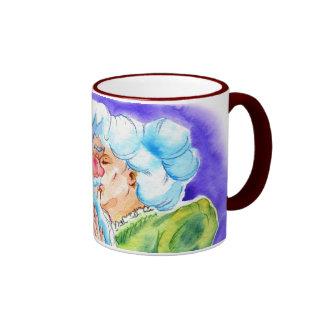 Kissin' Clauses Ringer Mug