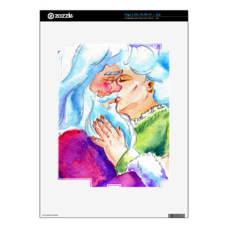 Kissin' Clauses iPad 2 Decal