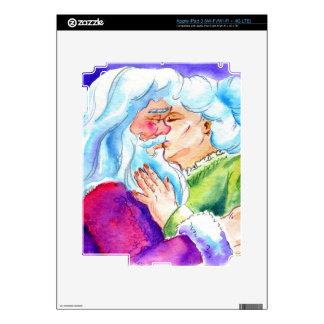 Kissin' Clauses iPad 3 Skin
