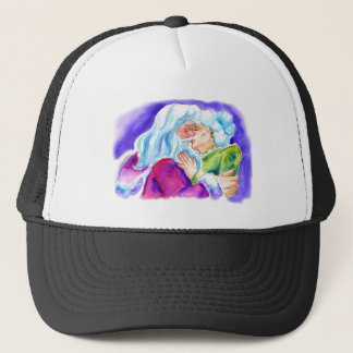 Kissin' Clauses Trucker Hat