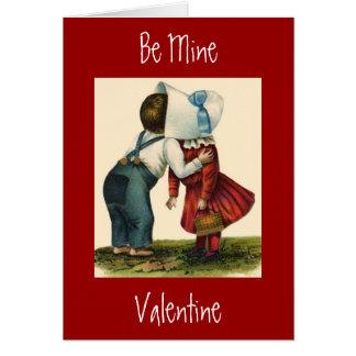 Kissin Kids Valentine's Day Greeting Card