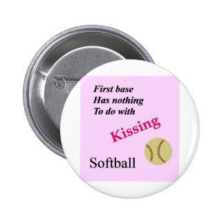 Kissing 33 button