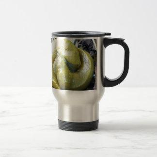 kissing banana slugs travel mug