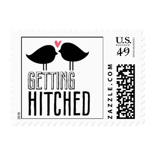 Kissing Booth - Getting Hitched Postage