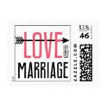 Kissing Booth - Love & Marriage Postage Stamps