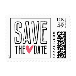 Kissing Booth - Save the Date Postage