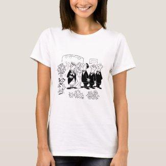 Kissing Bride T-Shirt