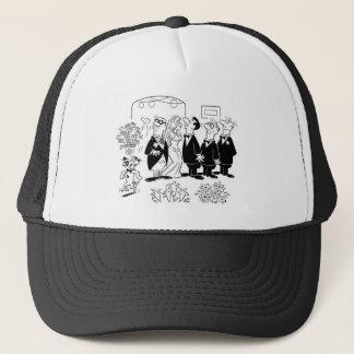 Kissing Bride Trucker Hat