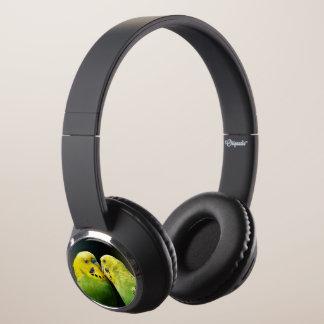 Kissing Budgie Parrot Bird Headphones
