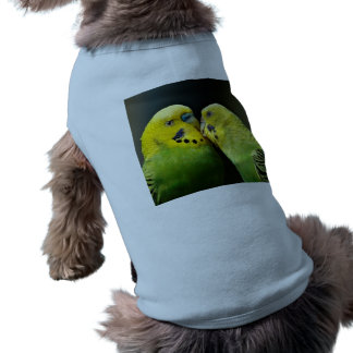 Kissing Budgie Parrot Tee