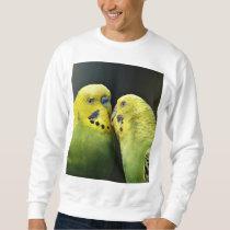 Kissing Budgie Sweatshirt