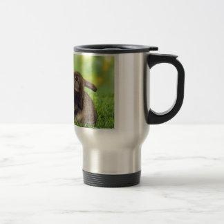 Kissing Bunnies Travel Mug