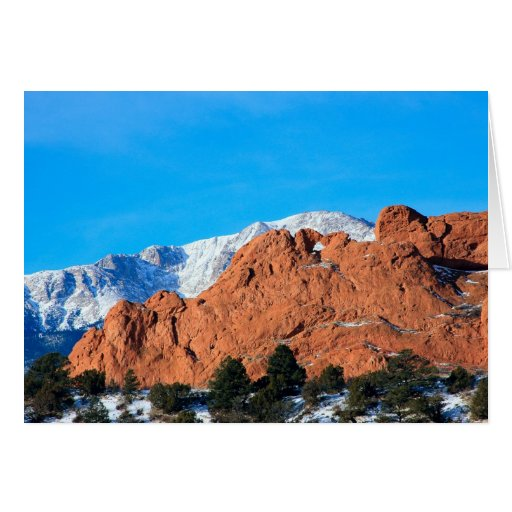 Kissing Camels In Garden Of The Gods Park Card Zazzle