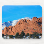 Kissing Camels in Garden of the Gods Park Mouse Pad
