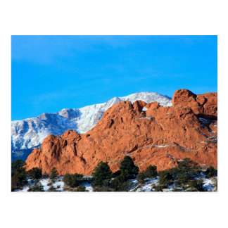 Kissing Camels in Garden of the Gods Park Postcard