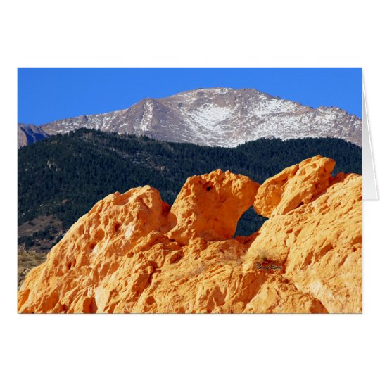 Kissing Camels, Pikes Peak Card