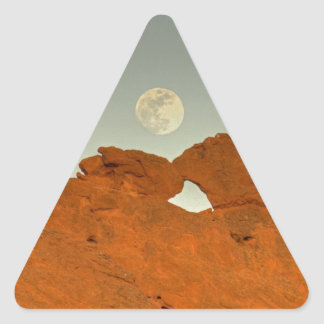 Kissing Camels Under Moon 01 Stickers