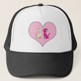 Kissing Cats (Meet the Mews) Trucker Hat