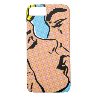 Kissing Couple Barely There iPhone 7 Case