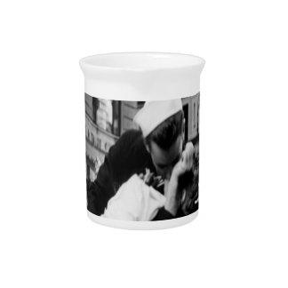 Kissing Couple Hug Kiss Coffee Mug Pitchers