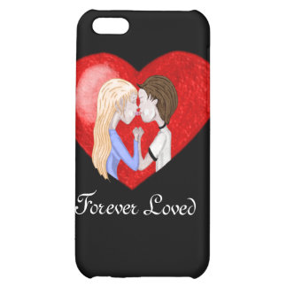 Kissing Couple iPhone4 case Cover For iPhone 5C