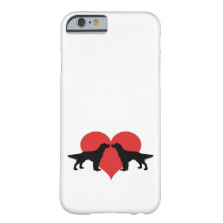 Kissing dogs barely there iPhone 6 case
