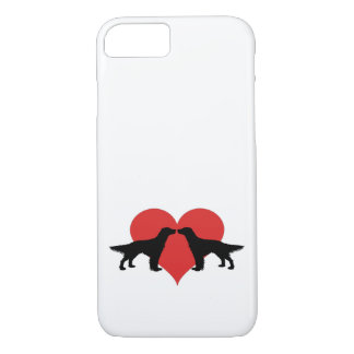 Kissing dogs iPhone 7 case
