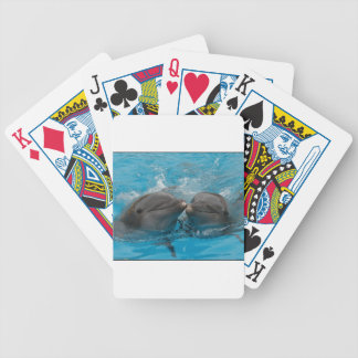 Kissing Dolphins Bicycle Playing Cards