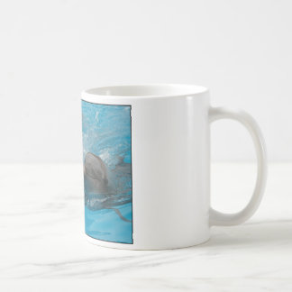 Kissing Dolphins Classic White Coffee Mug