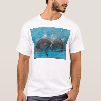 Kissing Dolphins T-Shirt