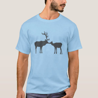 Kissing Elk T-Shirt