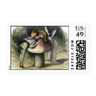 Kissing Faerie and Pixie Postage