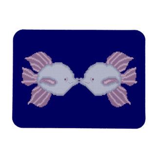 Kissing Fish Flexible Magnet