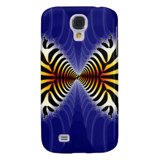 Kissing Fish Fractal Zebra Fish Samsung Galaxy S4 Covers