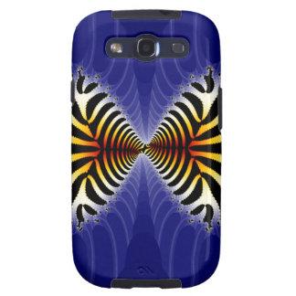 Kissing Fish Fractal Zebra Fish Samsung Galaxy S3 Case