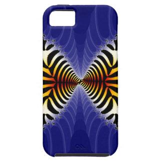 Kissing Fish Fractal Zebra Fish iPhone 5 Cases