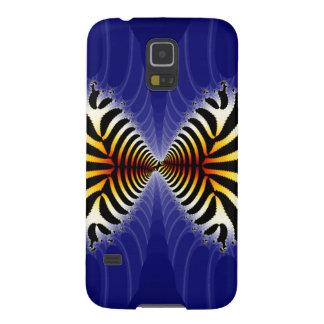 Kissing Fish Fractal Zebra Fish Case For Galaxy S5