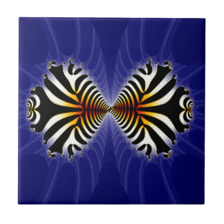 Kissing Fish Fractal Zebra Fish Tiles