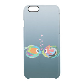 Kissing Fish iPhone 6/6S Clear Case