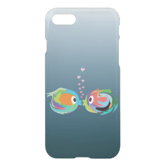Kissing Fish iPhone 7 Clear Case