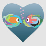Kissing Fish sticker