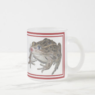 Kissing Frog (Add Your Text) Coffee Mugs